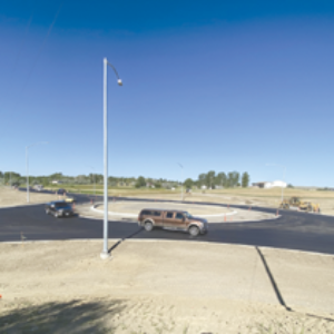Roundabout Completed at Hwy. 312 and Five Mile Road